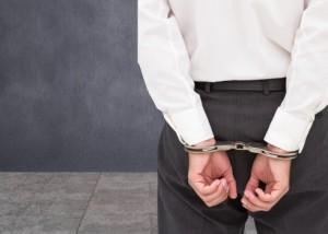 Man under arrest