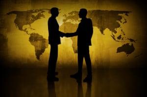 shady handshake