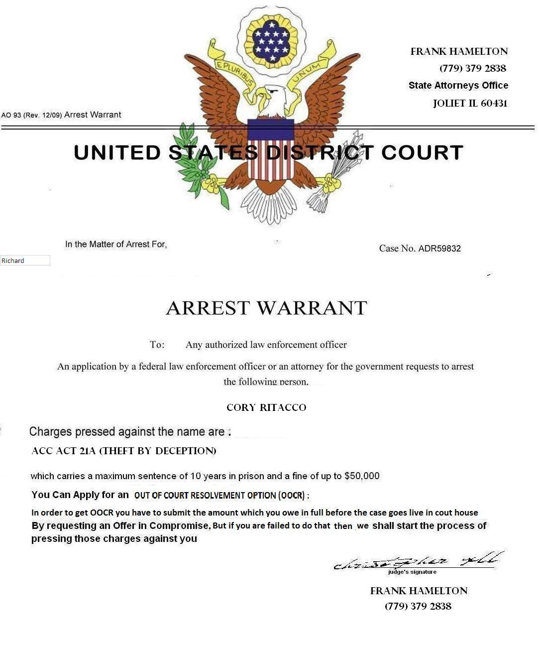 What To Do If You Learn Of A Federal Warrant For Your Arrest