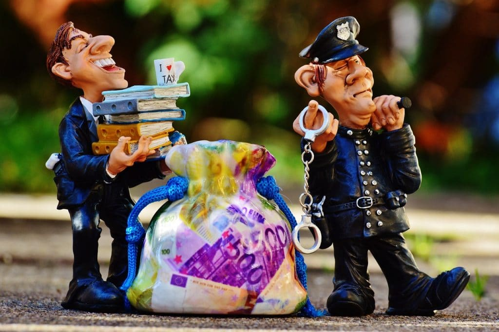An image representing Tax Fraud