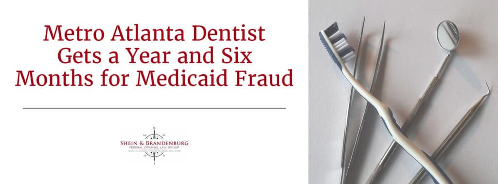 Medicaid Fraud with article topic