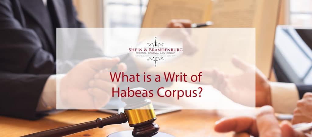 Legal professionals reading about writs of habeas corpus.