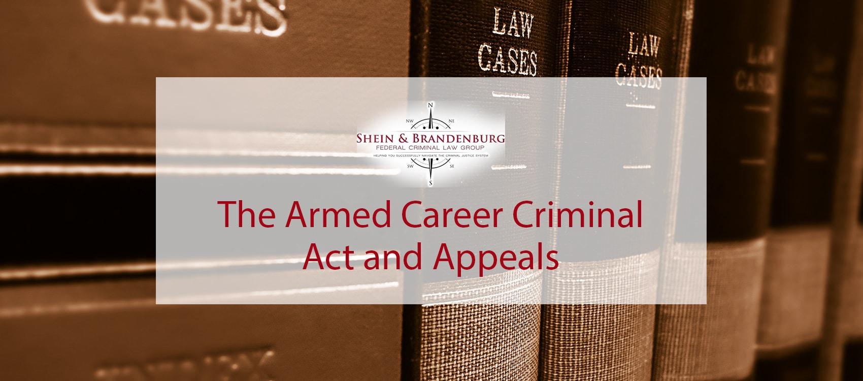 Armed Career Criminal Act