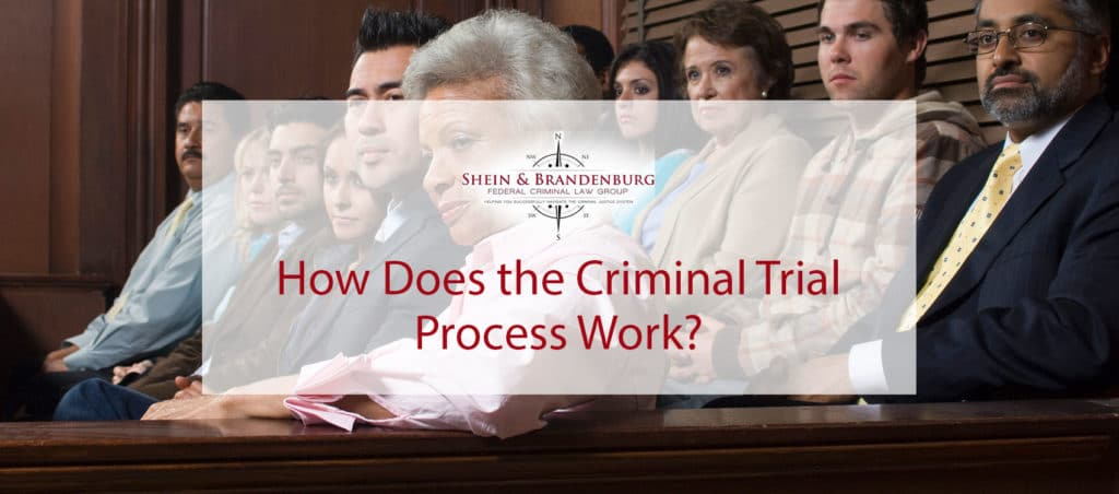 Jury during a criminal trial.