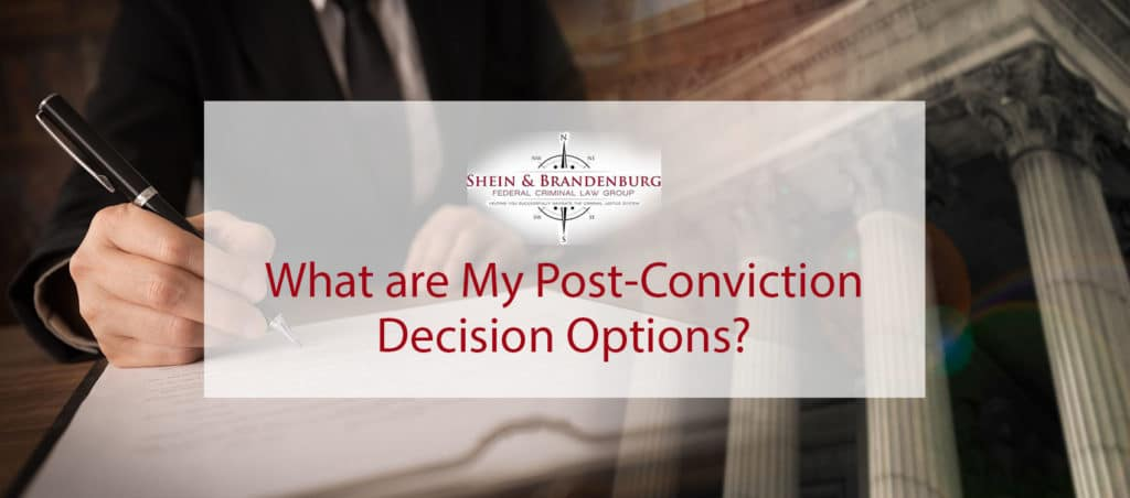 Person writing post-conviction decision.